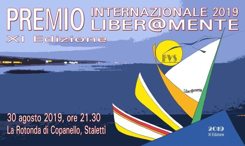 images A Copanello il 30 agosto il Premio Internazionale Liber@mente 2019