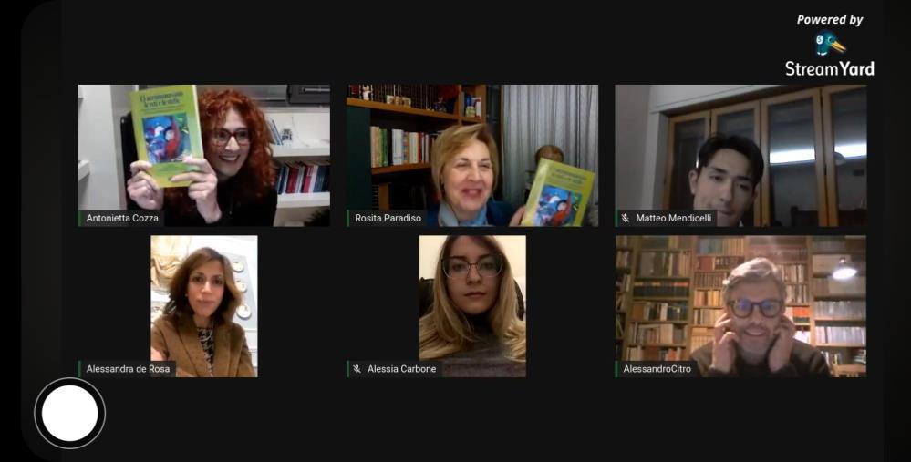 """images Il Polo tecnico-scientifico """"Brutium""""di Cosenza presenta il libro sul lockdown scritto da alunni, docenti e genitori"""