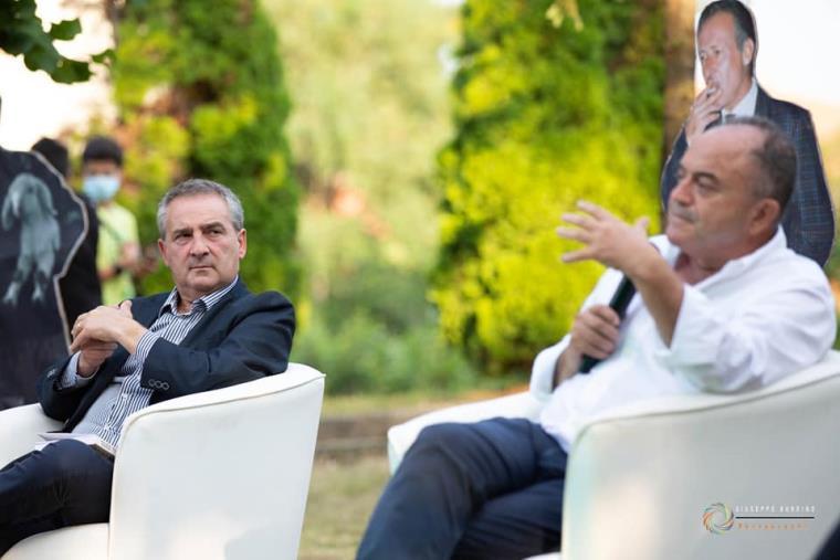 """images Girifalco. Nel ricordo delle vittime di mafia con """"I volti della Legalità"""": Giovanni Impastato e Nicola Gratteri"""