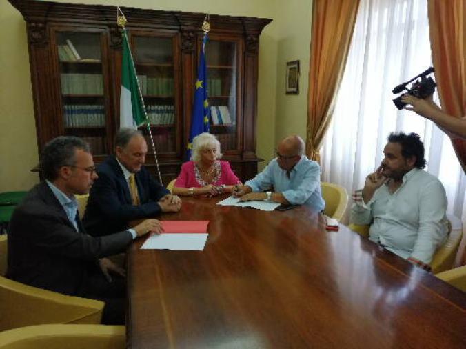 images Cosenza, un protocollo per tutelare il Parco del Pollino dagli incendi