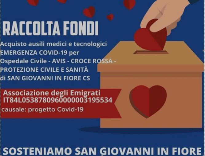 images Coronavirus. A San Giovanni in fiore parte una raccolta fondi per superare l'emergenza