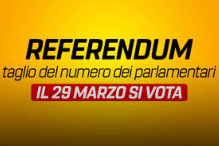 images Referendum costituzionale per il taglio dei parlamentari di domenica 29 marzo, le indicazioni della Prefettura