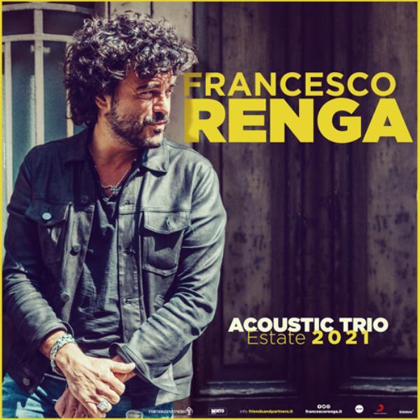images Musica. Francesco Renga in concerto il 16 agosto al Parco archeologico Scolacium a Roccelletta di Borgia