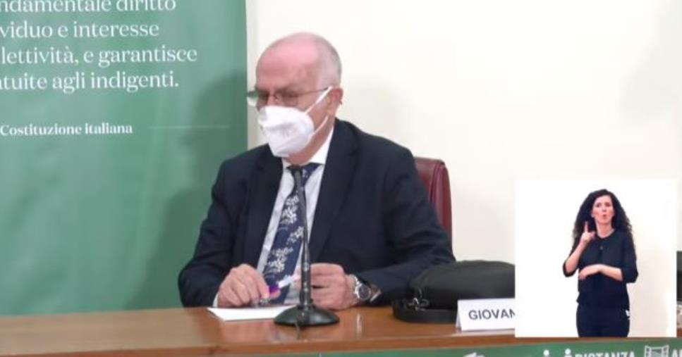 """images Rezza (Ministero Salute): """"Probabilmente il Covid diventerà endemico"""""""