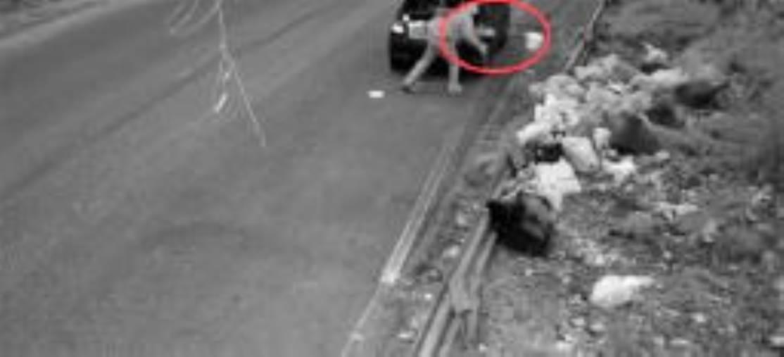 images Rifiuti abbandonati sui cigli delle strade, Abramo dispone la pulizia