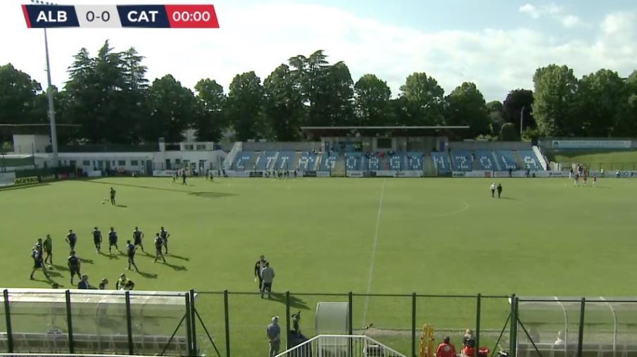 images Serie C, Play-off. Albinoleffe e Catanzaro in campo alle 18: formazioni ufficiali