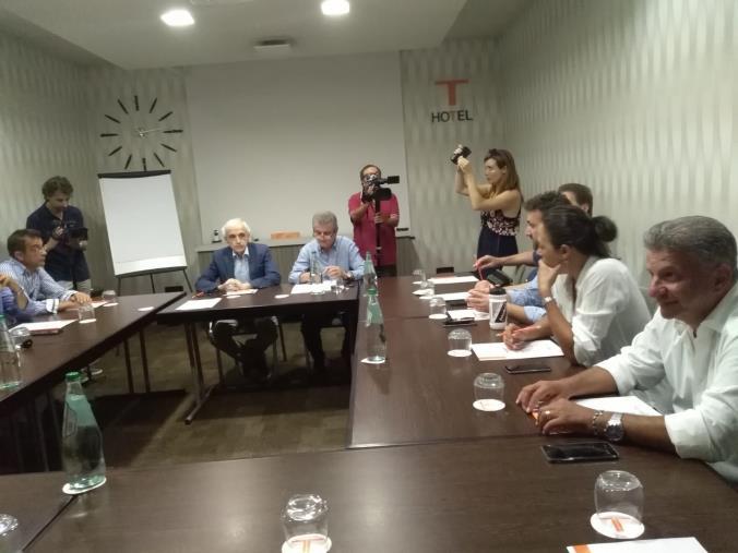 """images Regionali, prima riunione del centrosinistra """"allargato"""" ma senza il Pd"""