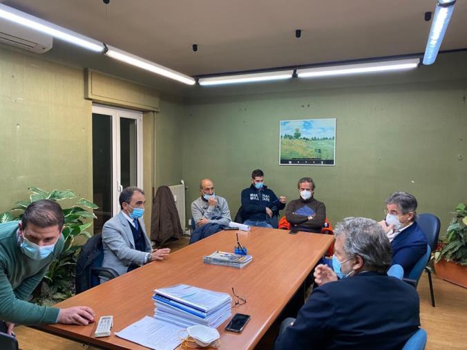 images S. Anna Hospital. Conclusa la riunione tra sindaco Abramo, CdA e Usb: gli impegni assunti