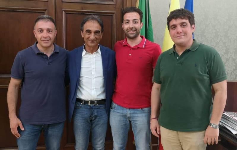 images Abramo e Polimeni incontrano il sindaco di San Floro