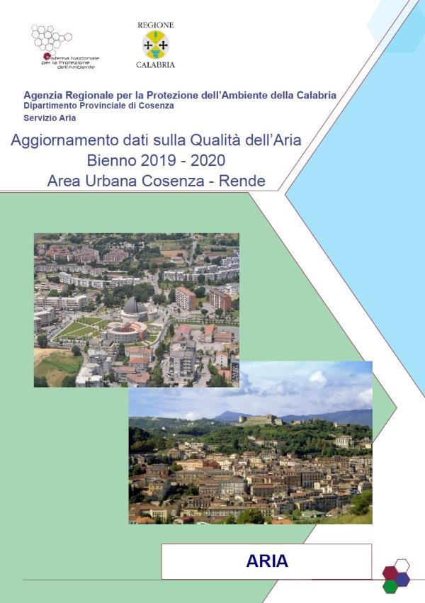 images L'Arpacal ha pubblicato il rapporto della Qualità dell'Aria dell'area urbana Cosenza - Rende