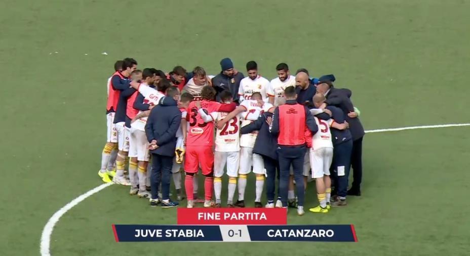 """images Juve Stabia vs Catanzaro: 0-1 finale. Le Aquile espugnano il """"Menti"""" dopo una prestazione di sostanza"""