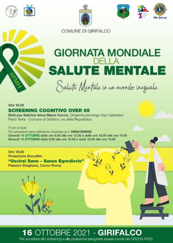 images Anche Girifalco celebra la Giornata mondiale della salute mentale