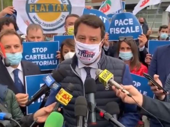 """images Operazione 'Faust'. Salvini: """"Complimenti alle forze dell'ordine e ai magistrati. Leghisti tra i primi a denunciare"""""""