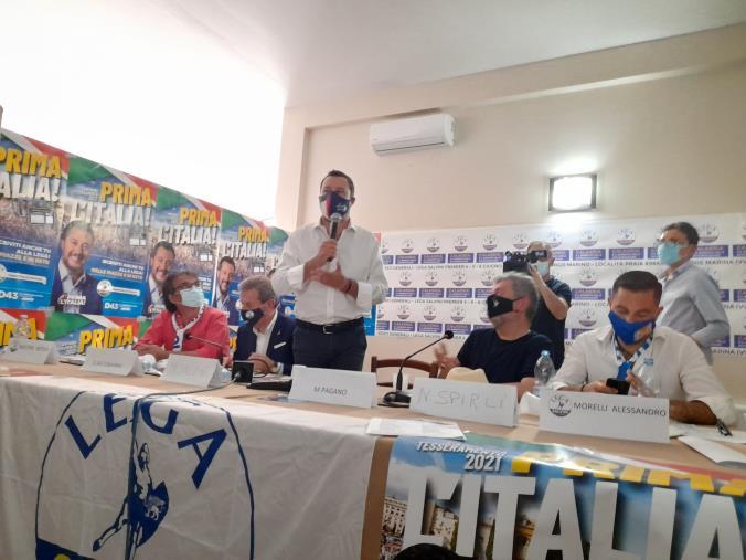 """images Regionali. Salvini: """"Per la Calabria serve una squadra. Scelta spetta a Forza Italia"""""""