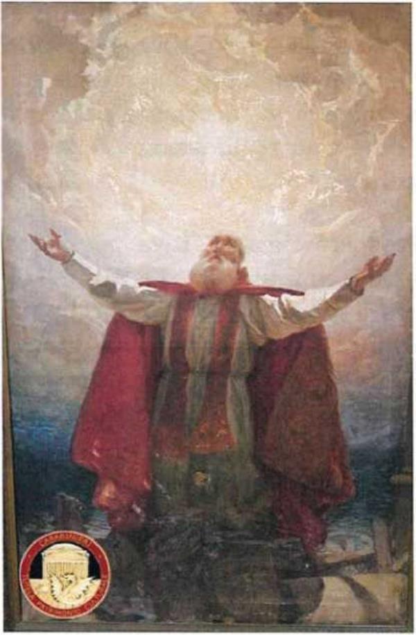 """images Il dipinto di """"San Prospero"""" ritorna al Museo diocesano di Reggio Calabria: un prezioso simbolo di rinascita per la città"""