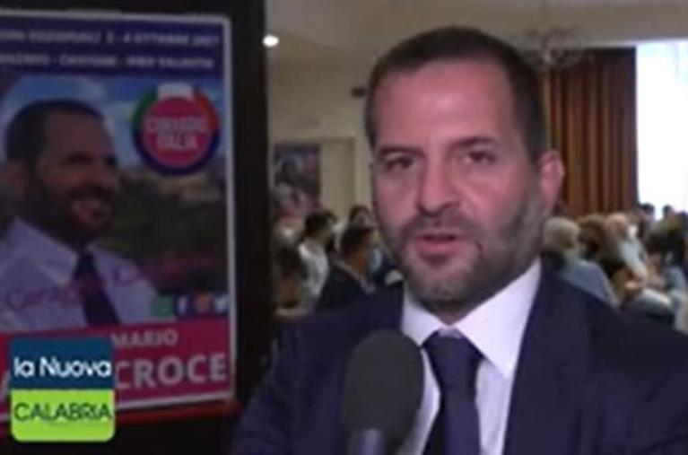 """images Regionali. Le priorità di Frank Santacroce (Coraggio Italia): """"Sistema portuale, asse Catanzaro-Lamezia e forestazione"""""""