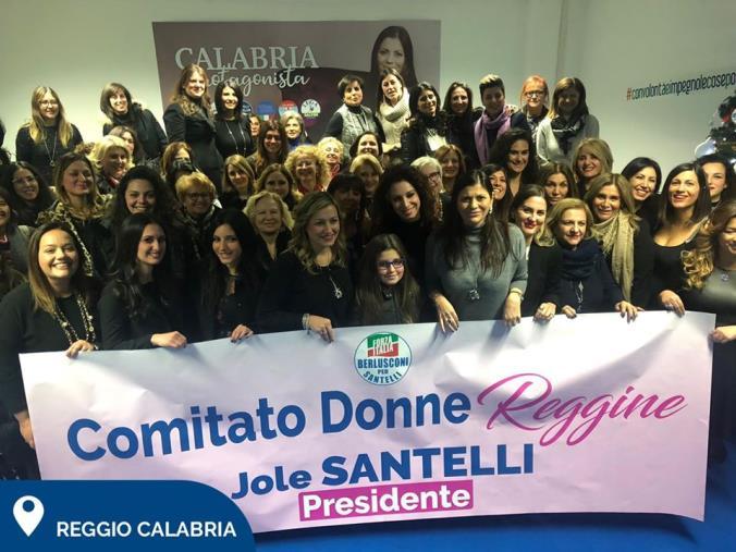 """images Regionali. Santelli punta sulle donne: """"Non cercano il potere, risolvono i problemi"""""""