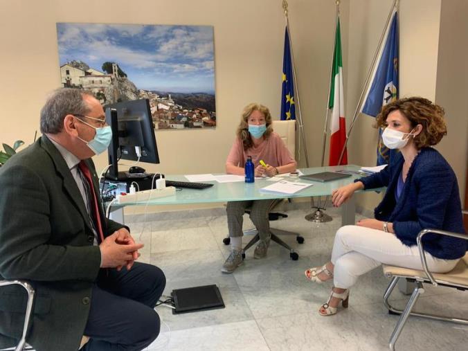 """images Usr Calabria, l'assessore Savaglio incontra i referenti ministero: """"Sintonia istituzionale"""""""