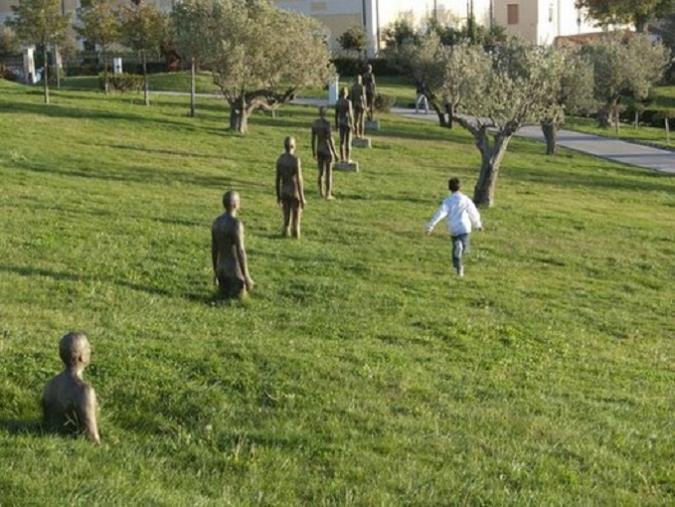 images Per Repubblica il Parco internazionale della Scultura di Catanzaro è fra i dieci più belli d'Italia