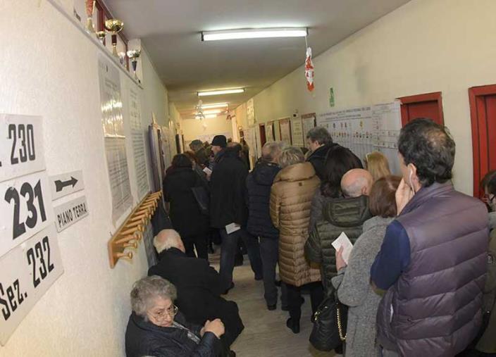 images Regionali. Lo storico dell'affluenza in Calabria: il 44% nel 2020 e nel 2014, il 59% nel 2010