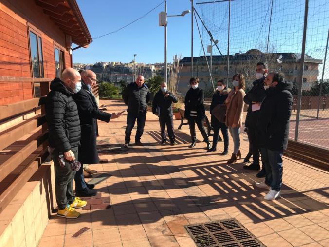 images Centro aggregazione di via Lombardi: sopralluogo della commissione Politiche sociali