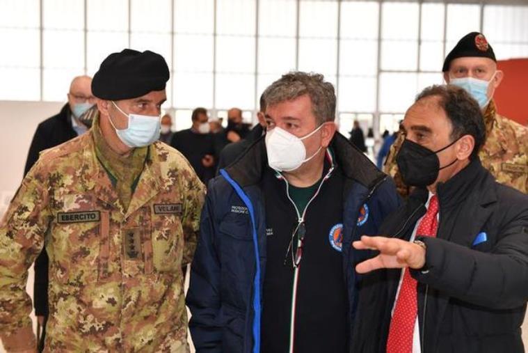 """images Reparti in affanno, Spirlì: """"Proporrò un ospedale Covid in ciascuna area della Calabria"""""""