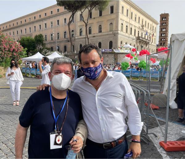 """images Salvini sul ticket Occhiuto-Spirlì: """"Giusto riconoscimento al lavoro di Nino"""""""