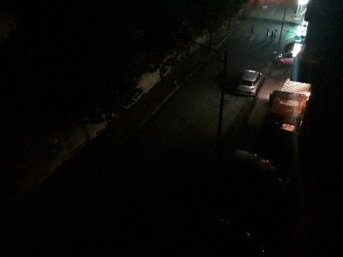 images Black out lampioni a Squillace superiore. Strade per qualche ora al buio