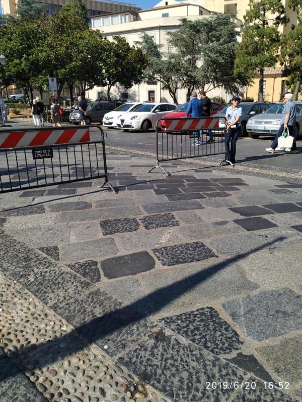 """images Mauro: """"I vigili urbani non sono addetti allo spostamento delle transenne"""""""