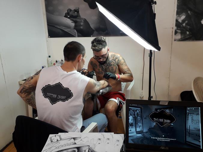 images Catanzaro Tattoo Fest. Iniziata la tre giorni al Palagiovino (VIDEO)