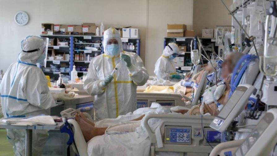 images Coronavirus. Al via il nuovo reparto di terapia intensiva a Paola