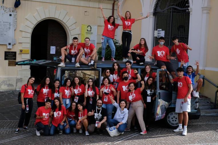 images Trame.10 a Lamezia Terme. Gigi Riva e  Stefano Vergine aprono il programma della V giornata