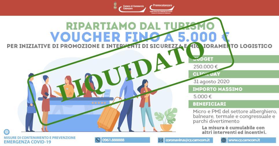 """images Bandi """"Turismo"""" e """"Agricoltura"""": altri 460mila euro erogati alle imprese dalla Camera di commercio di Catanzaro"""