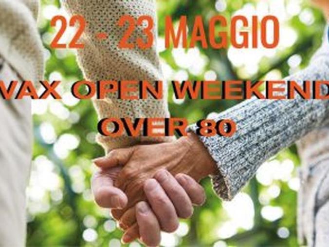 images Vax open weekend. Iniziativa per completare la fascia degli over 80 in Calabria