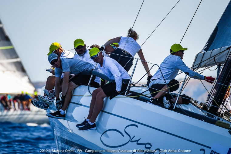 images I risultati della terza giornata del campionato di vela d'altura