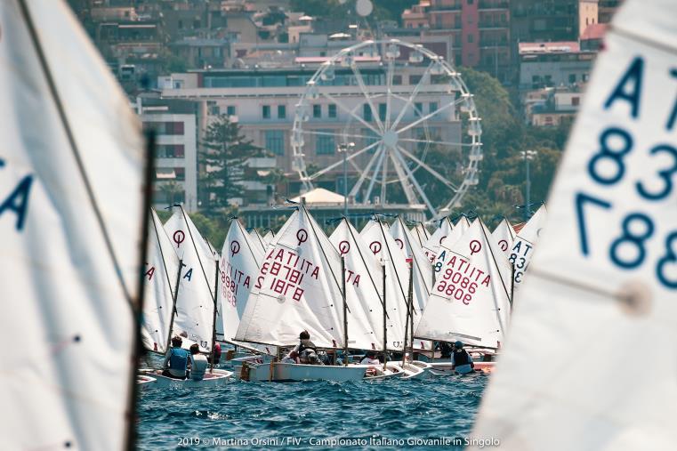 images Vela, ultimo giorno di regate ai Campionati Italiani Giovanili di Reggio Calabria
