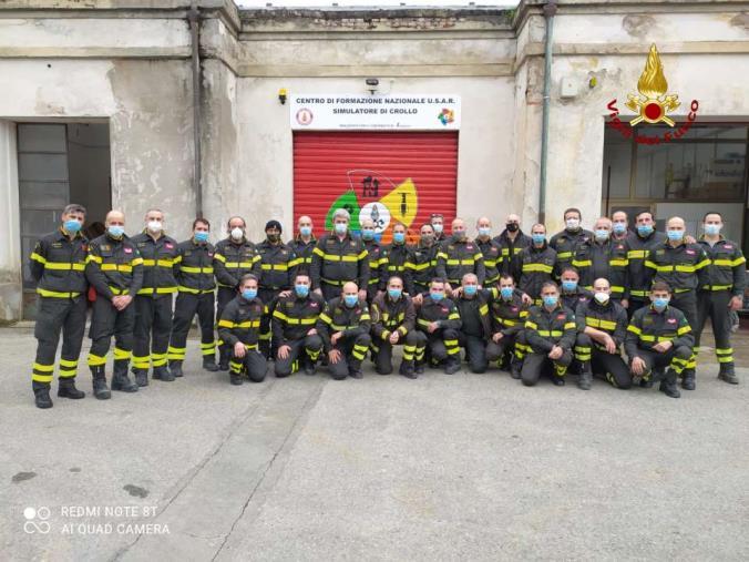 images Concluso a Pisa il secondo corso USAR Medium per i vigili del fuoco della Calabria