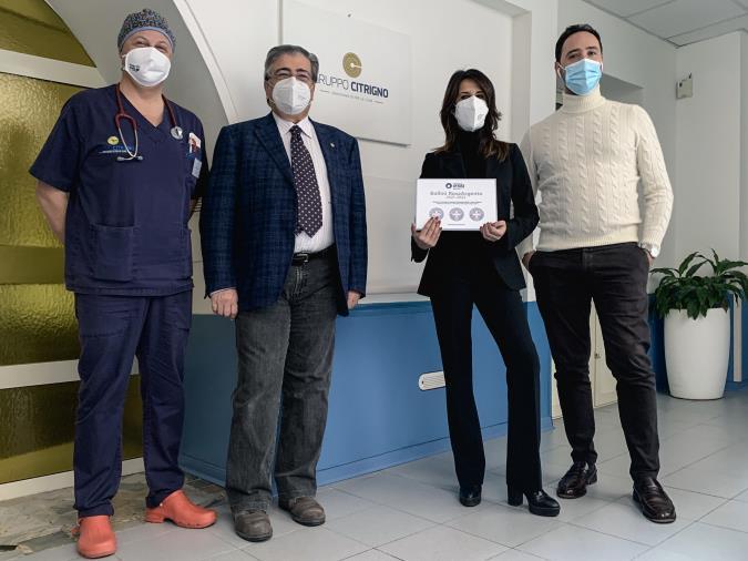 images Il centro clinico San Vitaliano e Villa Adelchi conquistano i bollini RosaArgento: le strutture del gruppo Citrigno premiate per la qualità dei servizi offerti