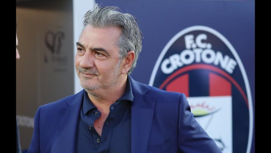 """images Crotone calcio. Il presidente Vrenna: """"Ho fiducia in Stroppa"""""""