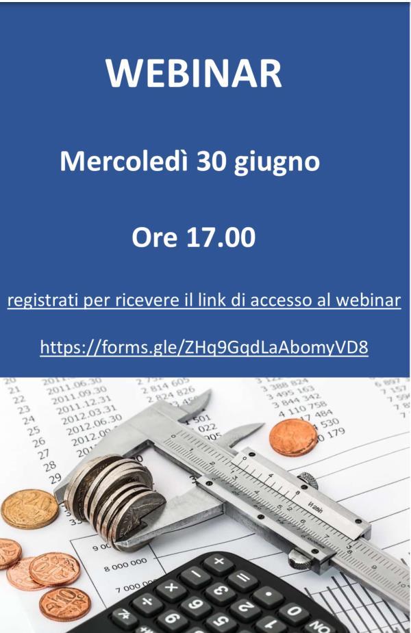 """images """"Dall'emergenza Covid a quella economica e finanziaria: il rischio per le imprese"""": domani webinar di Confartigianato Imprese Calabria"""