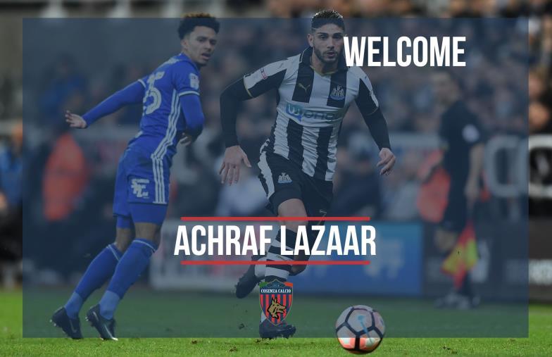images Ufficiale: Achraf Lazaar è un nuovo calciatore del Cosenza