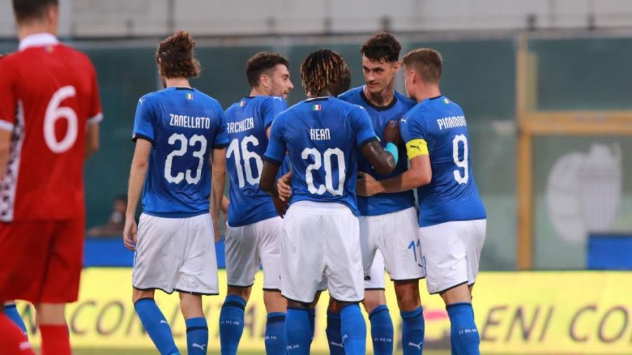 images Crotone, esordio vincente di Zanellato con l'Italia Under 21